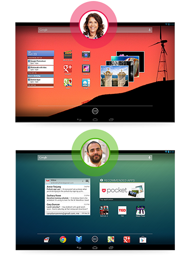 Android 4.2 multi-user