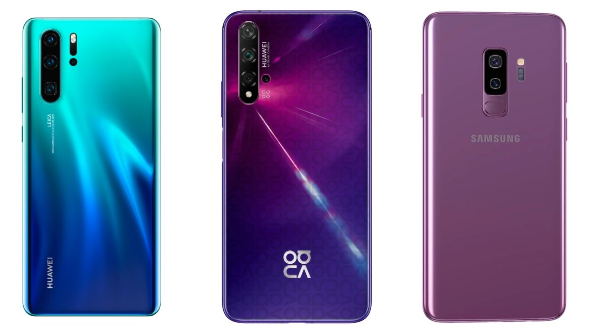 Huawei P30 Pro, Nova 5T, Galaxy S9 and much more in discount for Black Friday