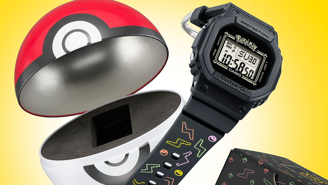 Casio launches the first BABY-G watch inspired by Pikachu