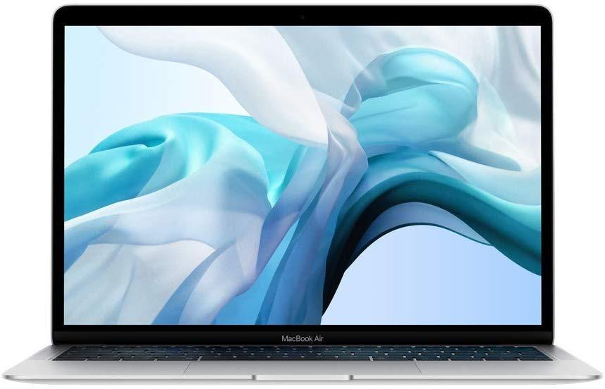 New Apple MacBook Air open