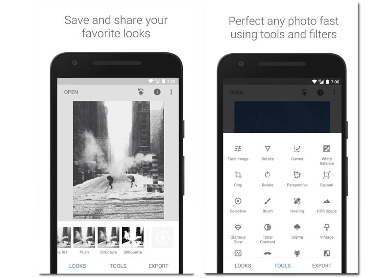 """Snapseed """"width ="""" 800 """"height ="""" 568 """"srcset ="""" https://www.funzen.net/wp-content/uploads/2019/11/1575067387_460_The-best-apps-to-edit-selfies-on-your-Android-phone.jpg 800w, https://androidayuda.com/ app / uploads-androidayuda.com / 2019/11 / pant4-11-300x213.jpg 300w, https://androidayuda.com/app/uploads-androidayuda.com/2019/11/pant4-11-630x447.jpg 630w, https://androidayuda.com/app/uploads-androidayuda.com/2019/11/pant4-11-768x545.jpg 768w """"sizes ="""" (max-width: 800px) 100vw, 800px"""