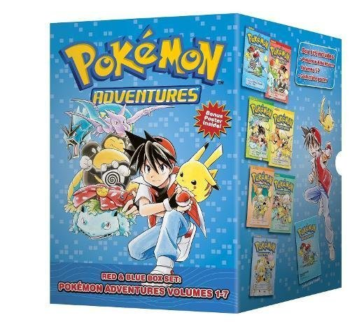 Pokmon Adventures manga set