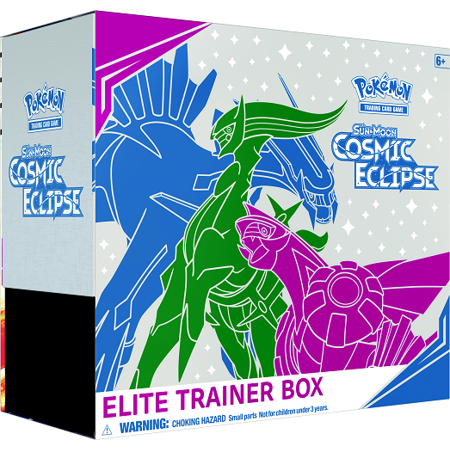 Pokmon TCG Sun & Moon: Cosmic Eclipse Elite Trainer Box