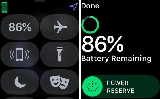 Tip 1. Check the remaining battery percentage