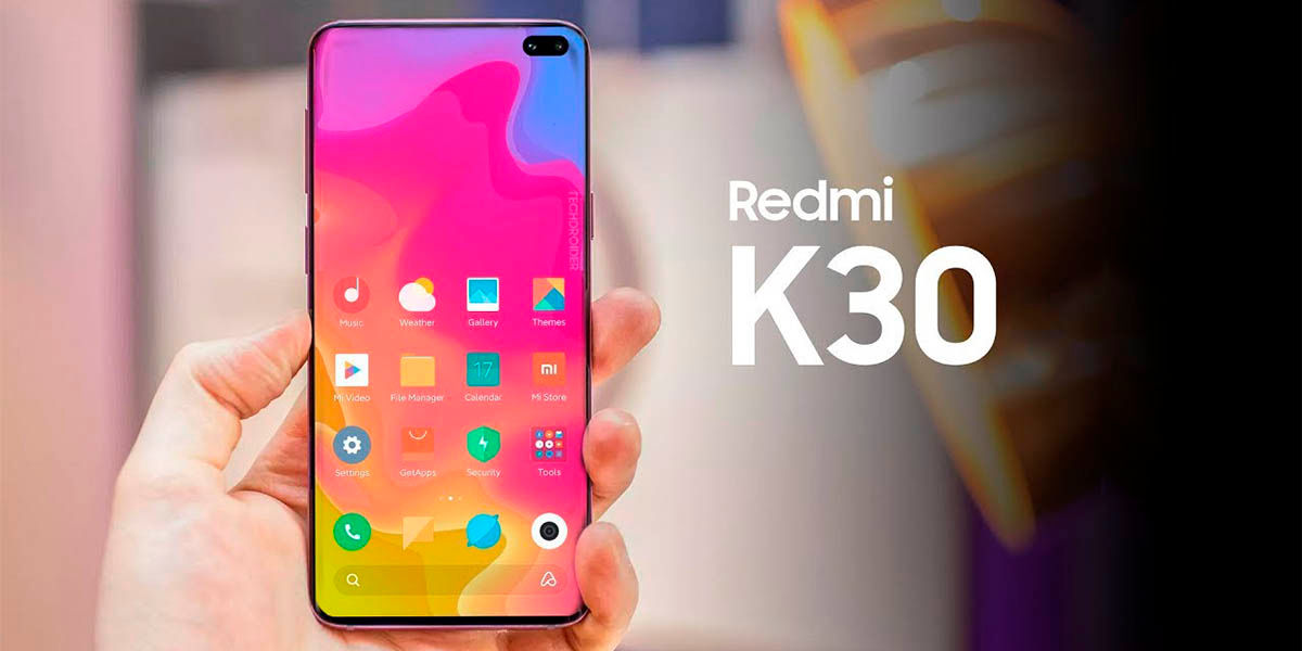 All the specifications of the Xiaomi Redmi K30