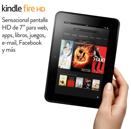 Amazon Kindle Fire HD ya a la venta en España