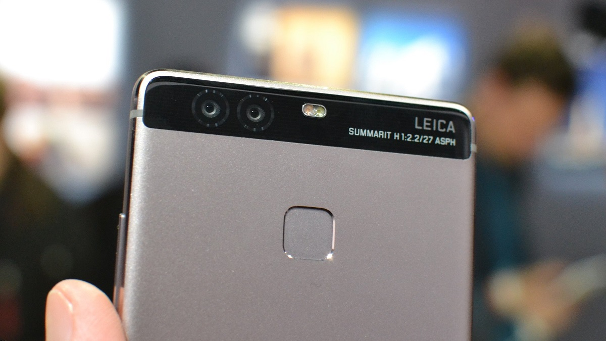 Huawei P9 from behind