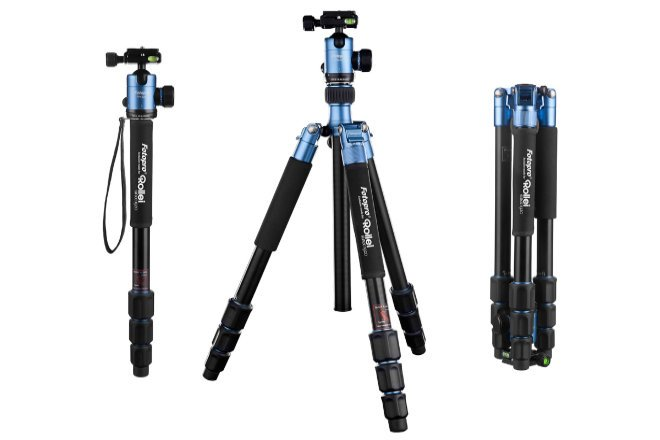C6i, the new Rollei tripod to make videos with the best stability