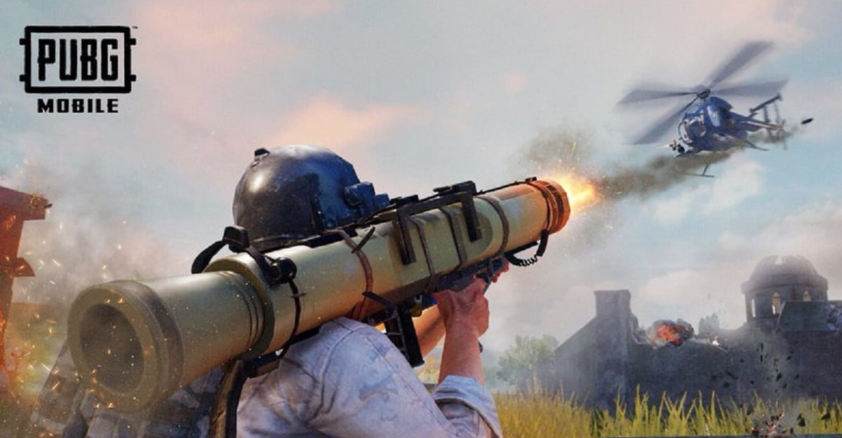 PUBG Mobile rocket launcher