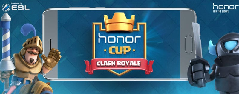 Clash Royale: Honor Cup is the first tournament of the manufacturer Honor