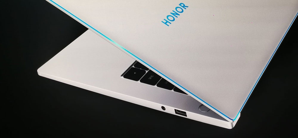 Design of the new Honor MagicBook