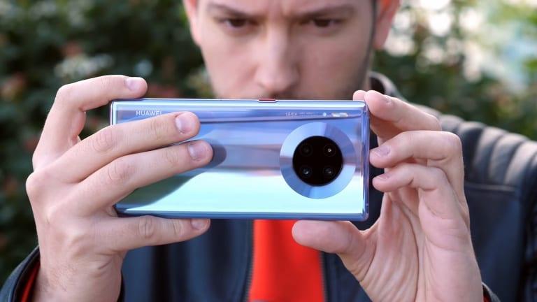 Huawei Mate 30 Pro slow motion