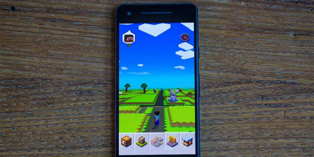 """I can't play Minecraft Earth on Android solutions """"width ="""" 1200 """"height ="""" 600"""