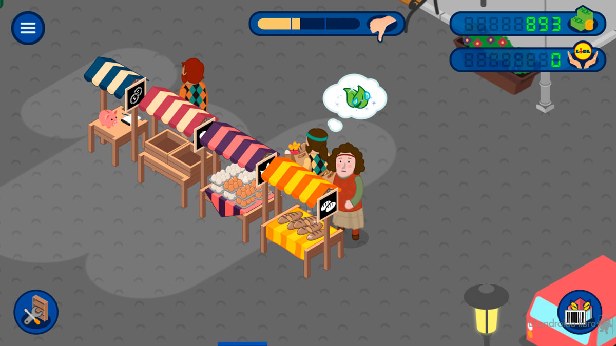 The most popular Google Play game is this supermarket creator