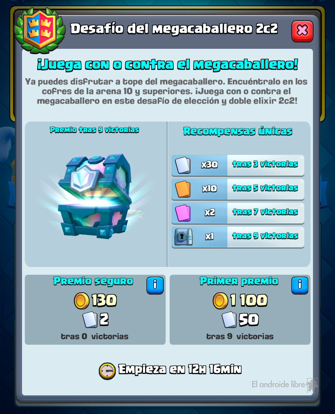 Clash Royale welcomes the Mega Knight with a new challenge