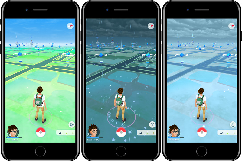 Pokémon GO is updated with third generation Pokémon and variable weather