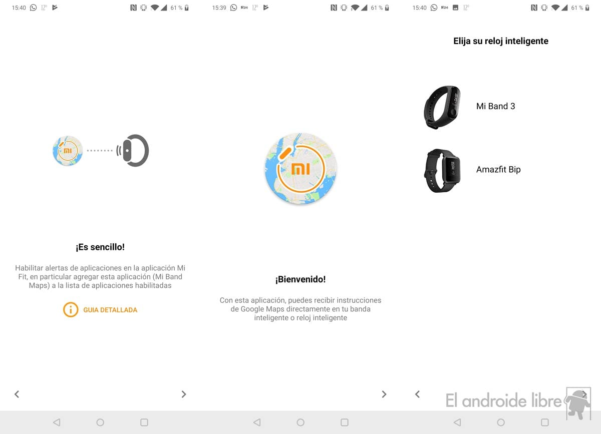 Power your Xiaomi Mi Band 3 with guidance through Google Maps