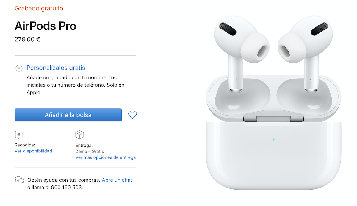 AirPods Pro out of stock Apple Store