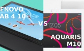 Lenovo Tab 4 10 vs Aquaris M10: comparison