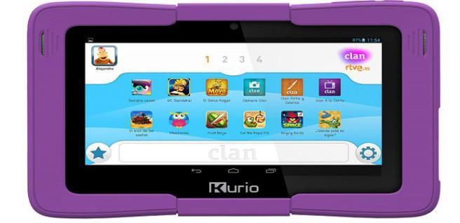 clan tablet screen
