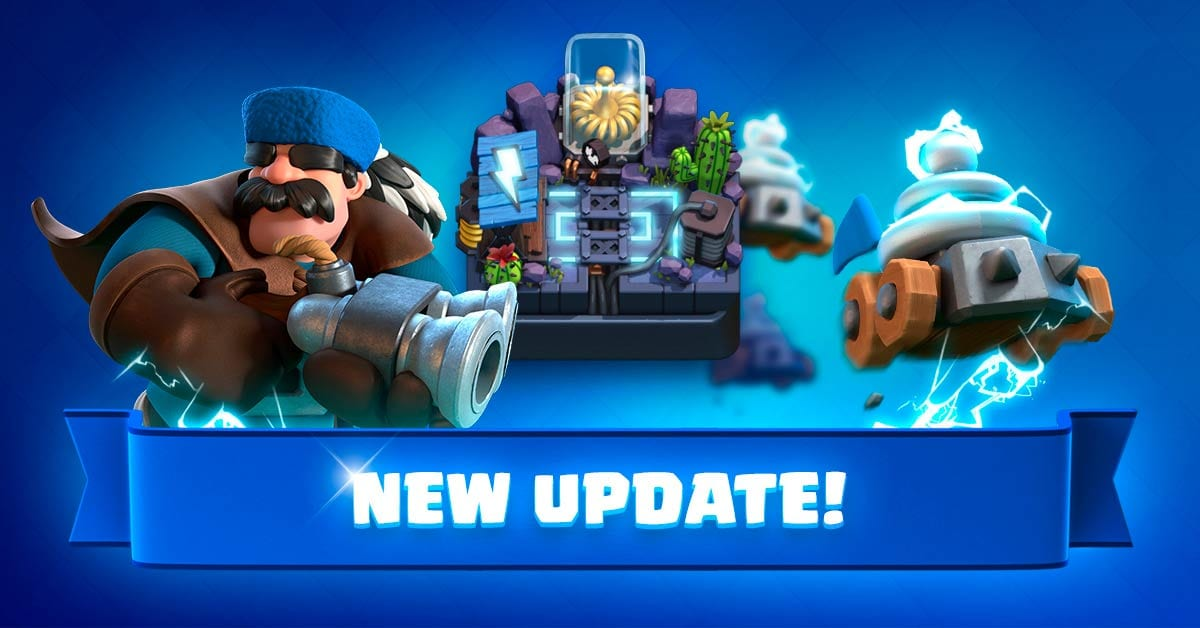 The new update of Clash Royale is the most electrifying of all
