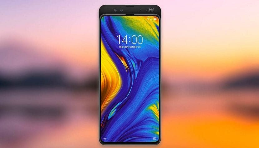 Xiaomi Mi Mix 3 screen