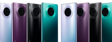 Huawei Mate 30 Pro against the best high-end: huge battery and design to compensate for the operating system