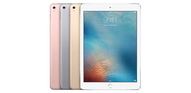 iPad Pro 9.7 rose gold white black