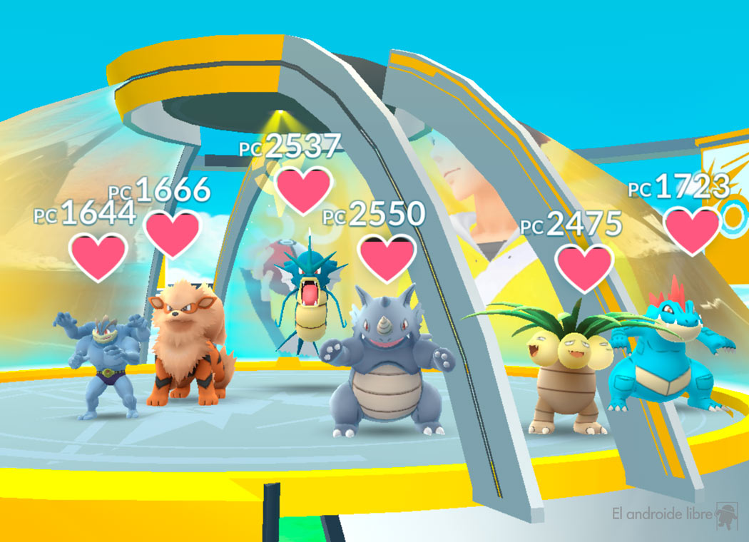 Try the new Pokémon GO gyms: they are operational again