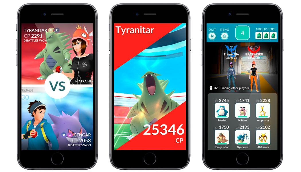 Next version of Pokémon GO