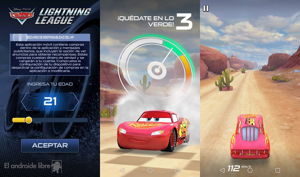 Download the Cars 3 game for your Android mobile now