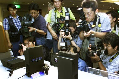 The press before the PlayStation 2, on March 4, 2000