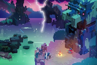 Hyper Light Drifter, a graphic adventure for iPad that was highlighted as one of the best video games for Apple's tablet