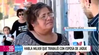 """Elizabeth Ogaz is Chilean and in a TV interview she said """"the vistima is done"""", and her bad pronunciation went viral"""