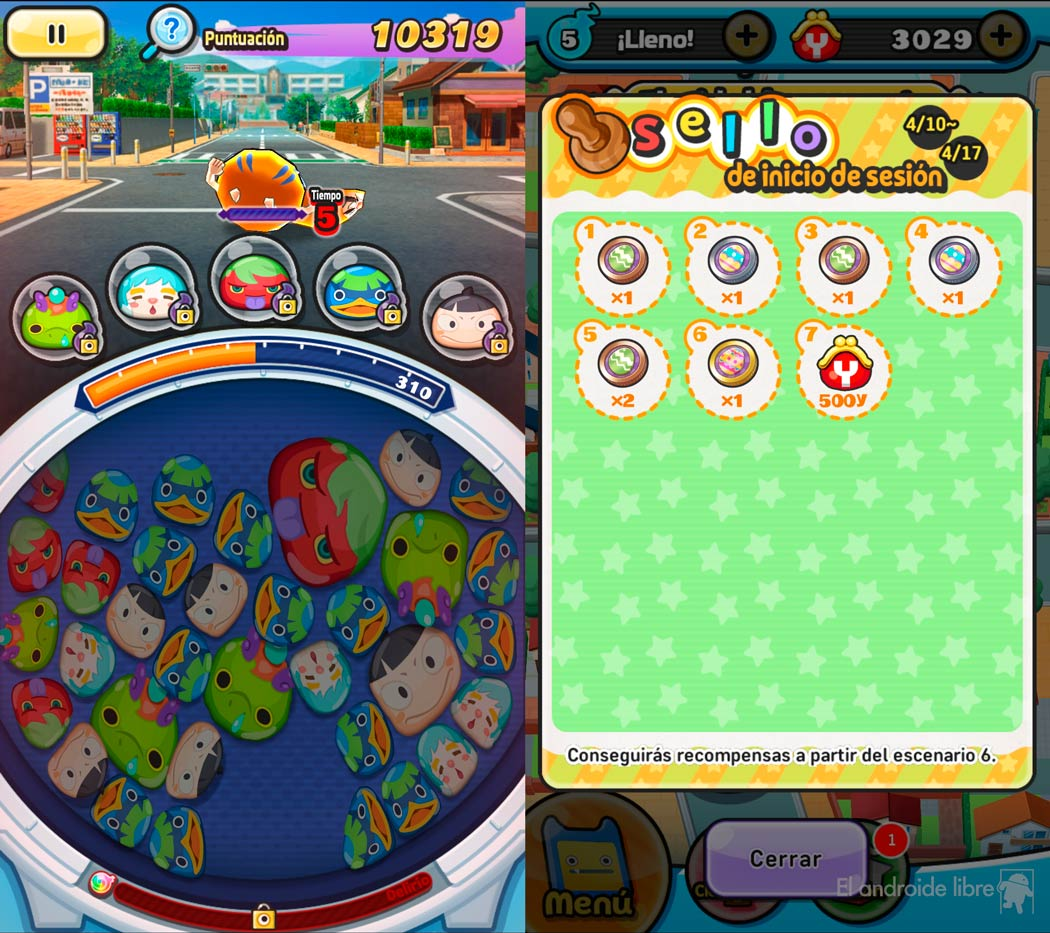 Yo-kai Watch for Android, a puzzle game that you will love