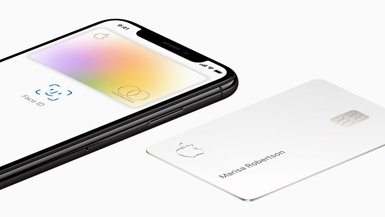 iPhone next to Apple Card