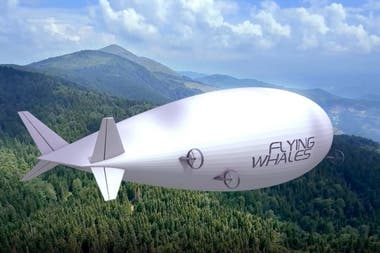 One of the many designs of Flying Whales