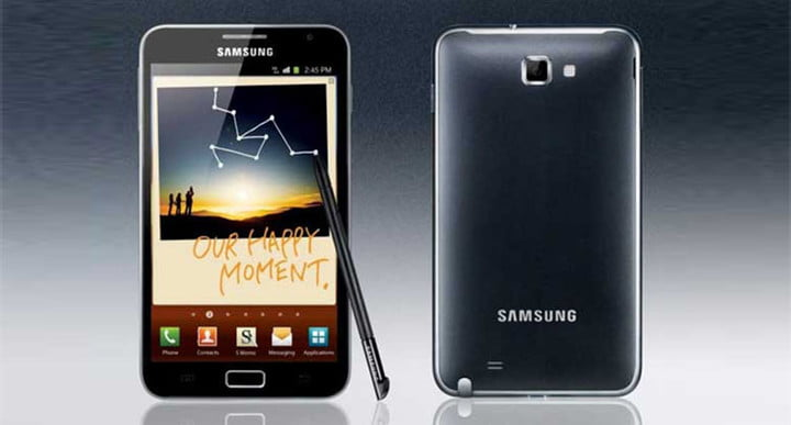 iconic galaxy note 1 cell phones