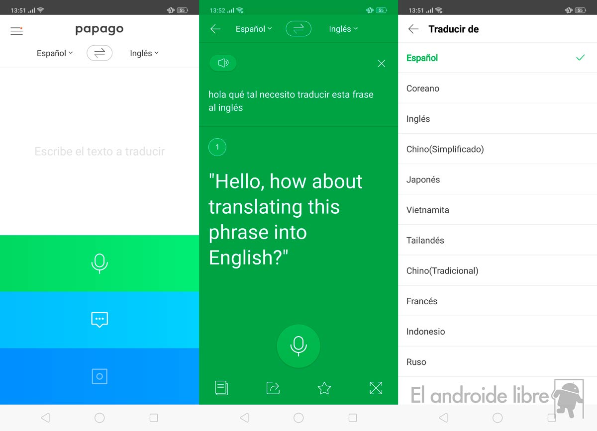 Escape the Google translator with these alternatives for your mobile