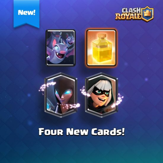 new Clash Royale cards