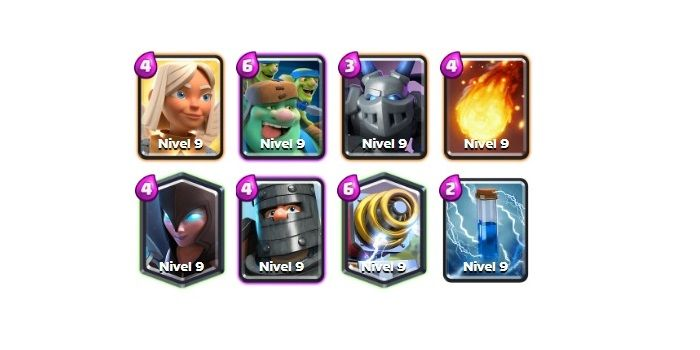 """Deck of the Warrior Healer with the Giant Goblin """"width ="""" 700 """"height ="""" 350"""