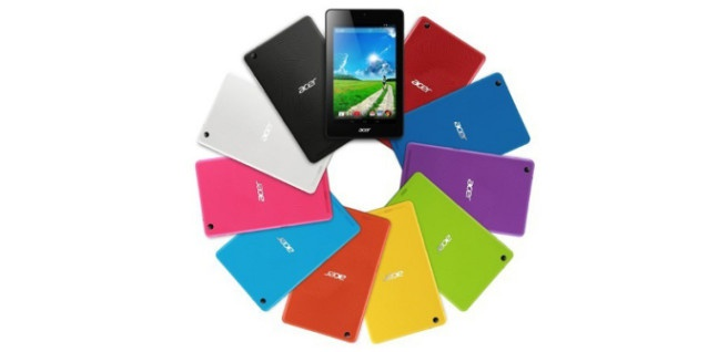 Acer Iconia One colors