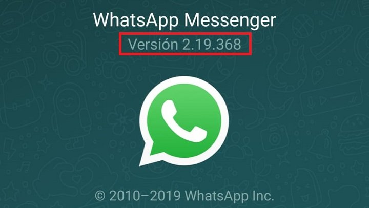 Image - How to know if you have WhatsApp updated to the latest version