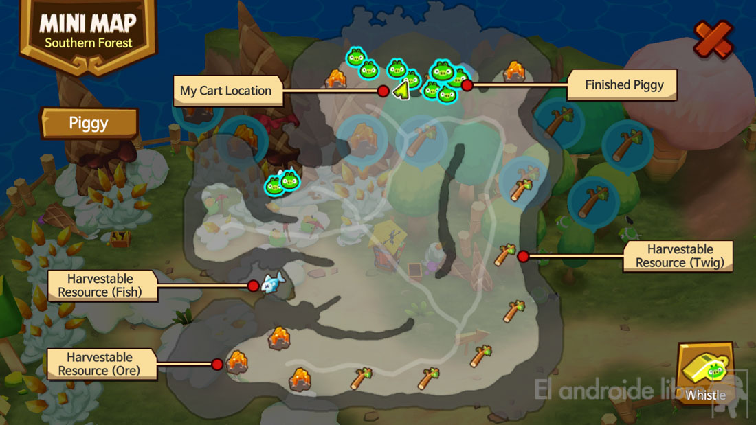 Angry Birds Islands, a new strategy game with the famous birds