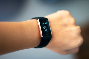 Fitbit, one of the companies that manufactures sports monitors with heart rate tracking