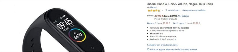 Buy the Xiaomi Mi Band 4 cheap