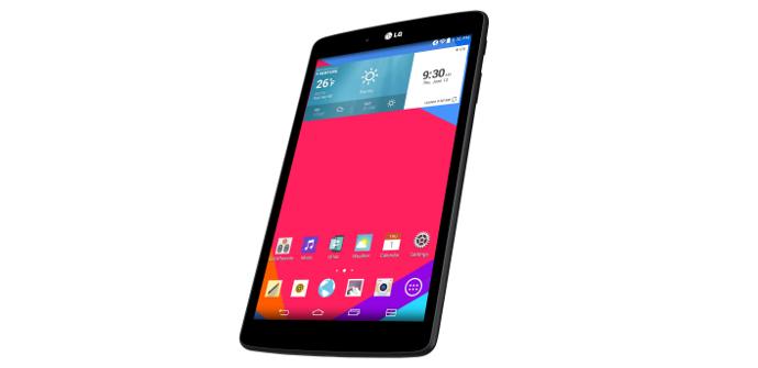 LG G Pad 8.0 4G with Orange
