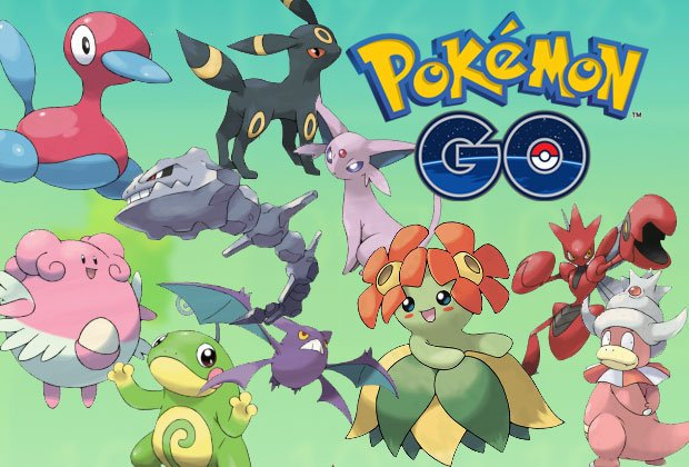 Evolution Second Generation Pokemon GO
