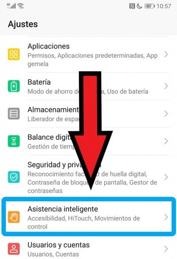 Image - How to disable HiTouch on a Huawei