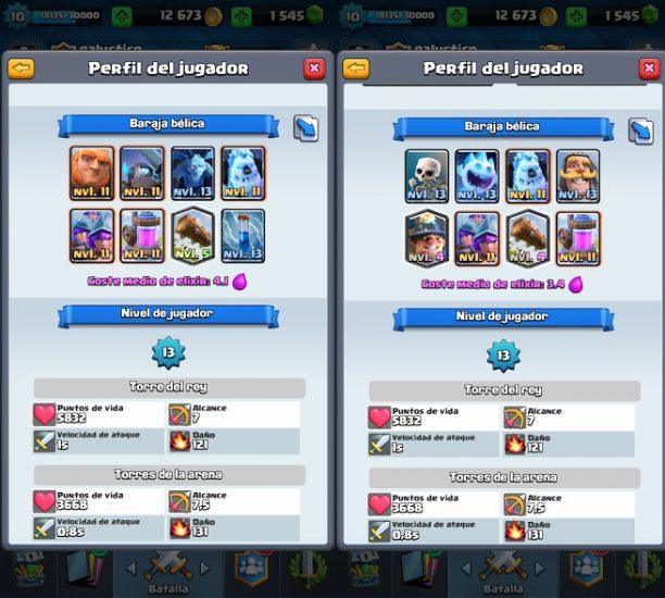 balance adjustments Clash Royale